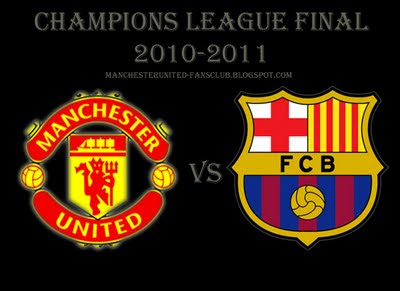 Manchester United vs Barcelona Champions League final Match