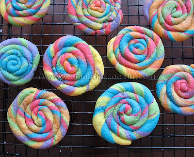 Rainbow Cookies | St. Patricks Day Cookies