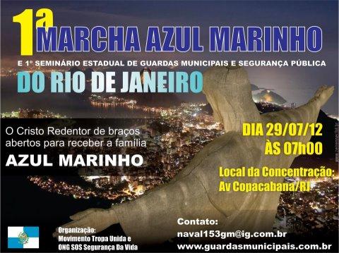 1ª Marcha Azul Marinho do Rio de Janeiro