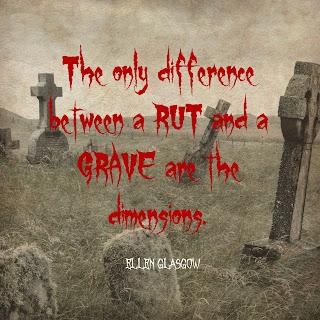 rut grave quote cemetery graveyard Ellen Glasgow