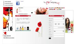 Try New Perfumes campioni gratis profumi