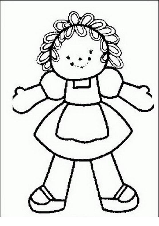 Muñeca para dibujar - Imagui