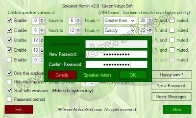 Speaker Admin