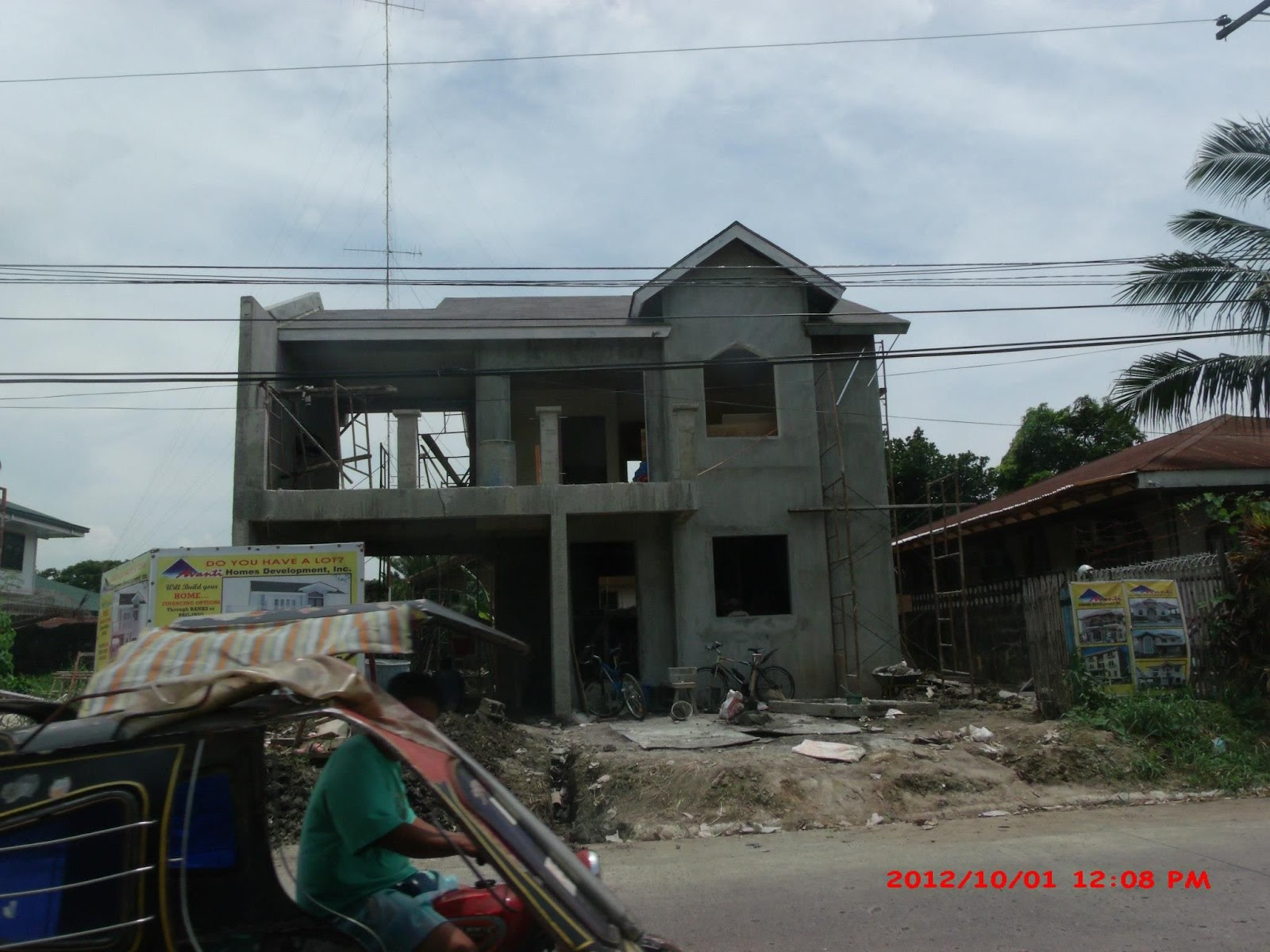 Modern contemporary house designs philippines iloilo simple 2 storey - Alta Tierra Village House Construction Project In Jaro Iloilo