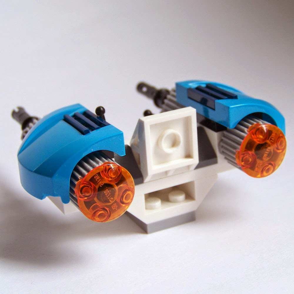 LEGO Space 2014 review