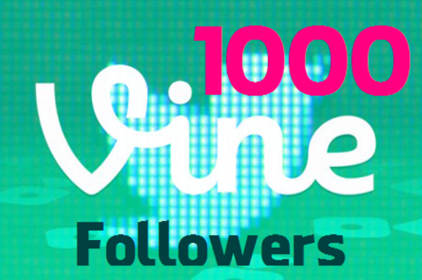 1000 Vine Followers