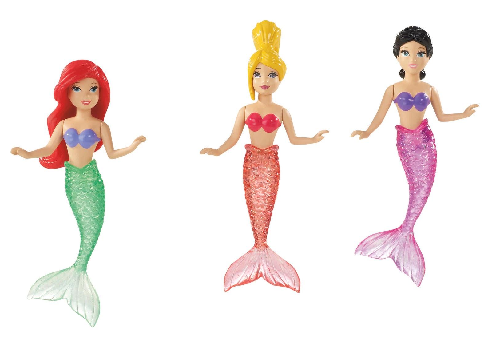 L.A. Story: Splashy-Splashing with Disney\'s Princess Ariel Water Toys