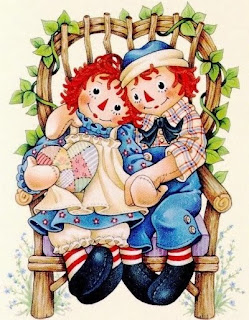 Andy e Ann, Animais Country, Pintura Country, Raggedy, Ann and Andy, boneca country,