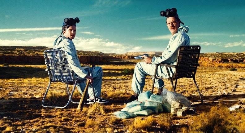 Jesse Pinkman y Walter White. La meta azul de 'Breaking Bad' llega a Nuevo México