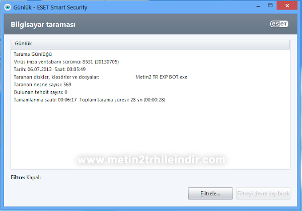 Metin2 Exp Kasma Botu 2013