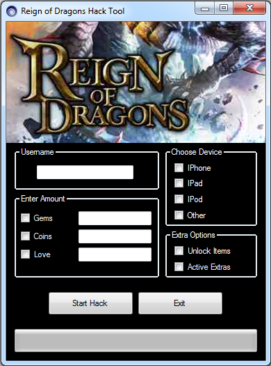 Reign of Dragons Hack V4.2