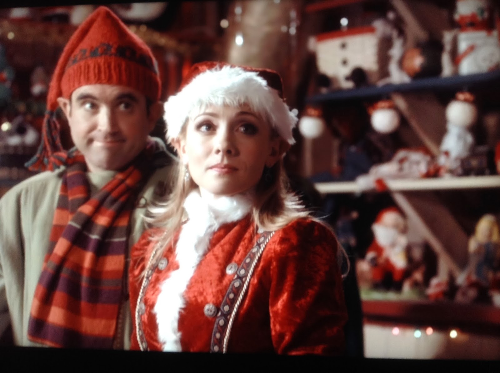 and a montage of teri and luke making cookies and having just a delightful time doing it - Santa Baby 2 Christmas Maybe