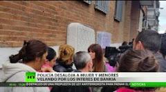 La Policía desaloja a una mujer y sus hijos pequeños en Madrid