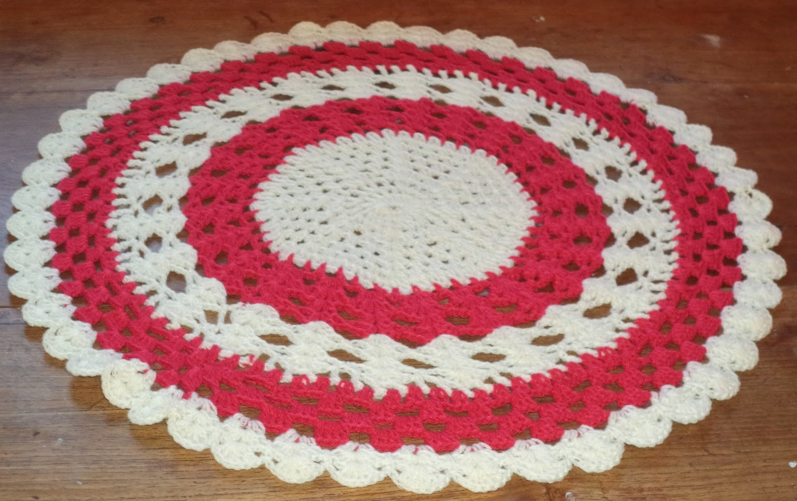 Free Crochet Patterns Round Table Toppers : Ultimate Weaves Crochet Accessories : Uniquely Crocheted ...