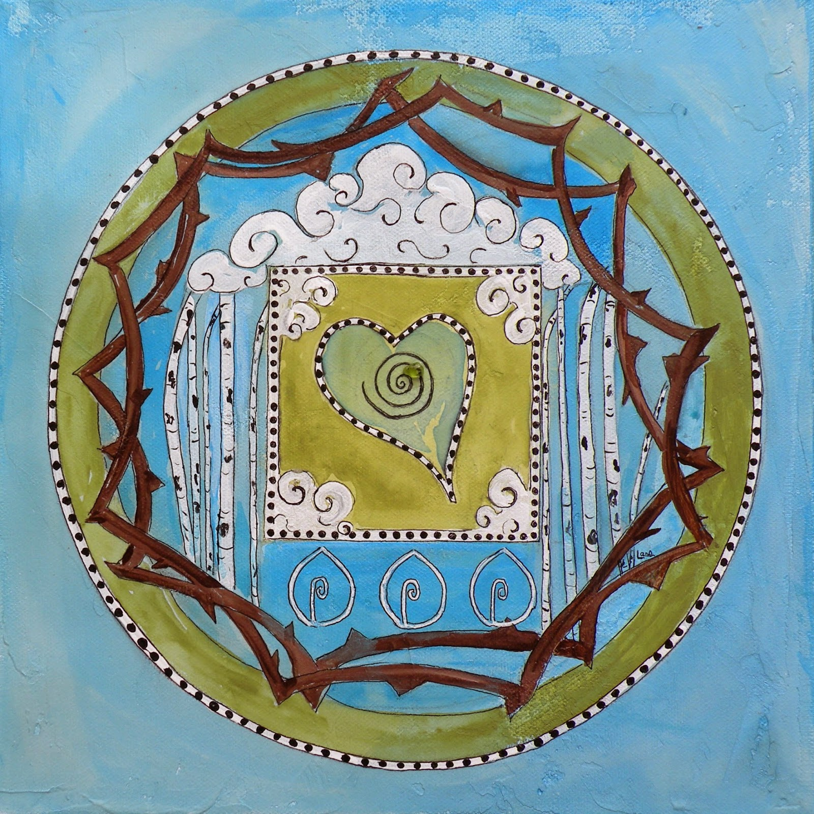 Art for life my personal mandala saundra lane galloway - Mandalas signification formes ...