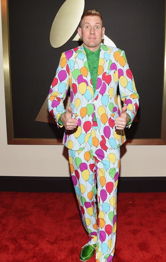Bill Kelliher en los Grammy 2015