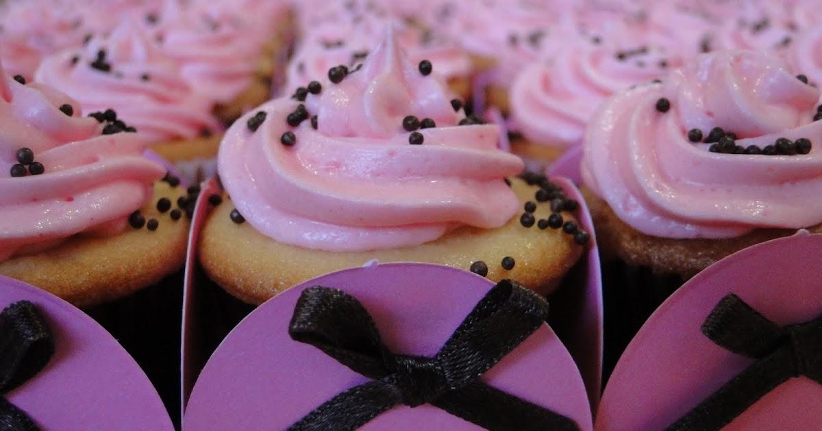 Vitrine dos cupcakes cupcakes para uma festa da jolie - Jolie cupcake ...