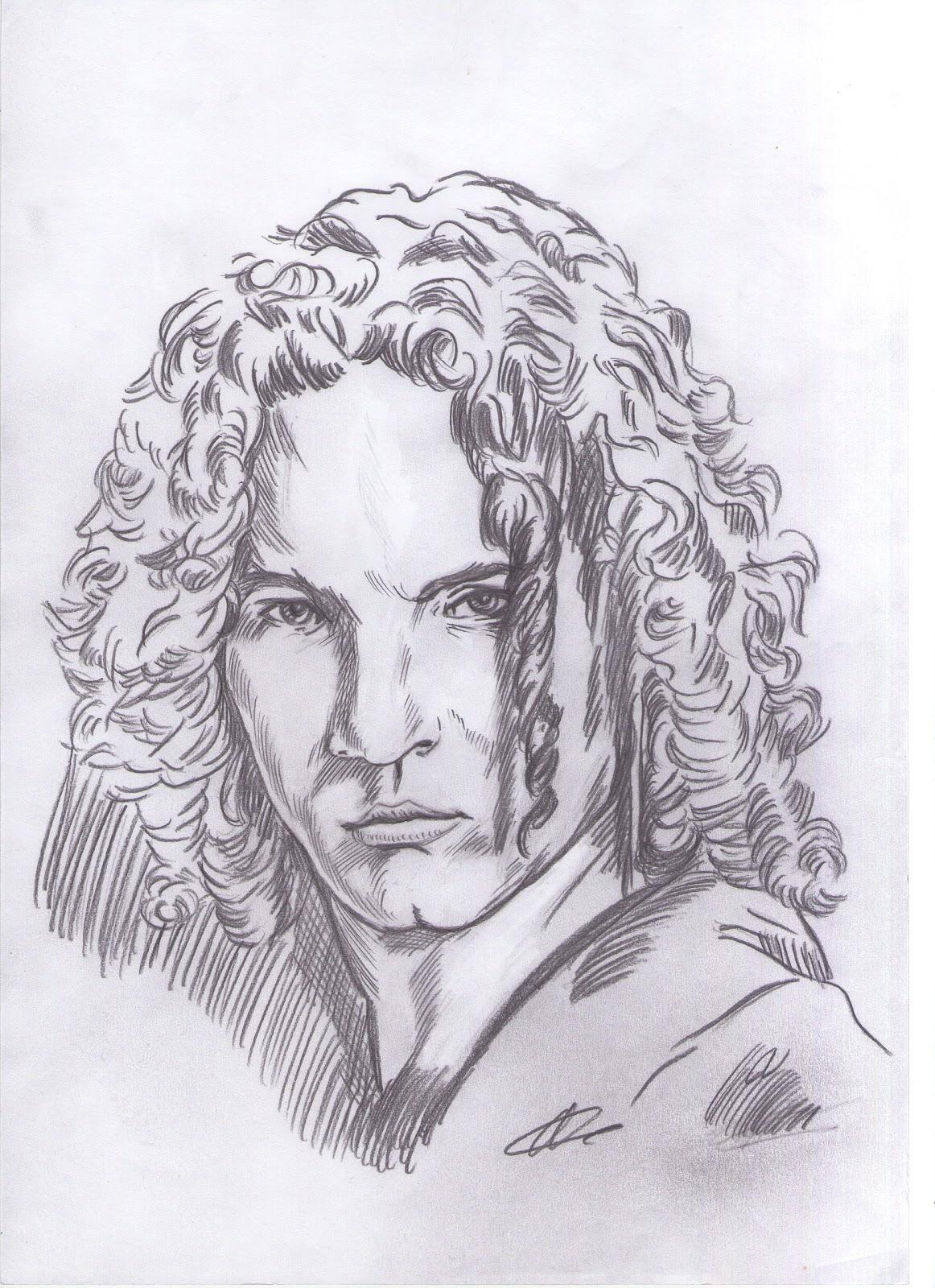 dibujos a lápiz de famosos 2