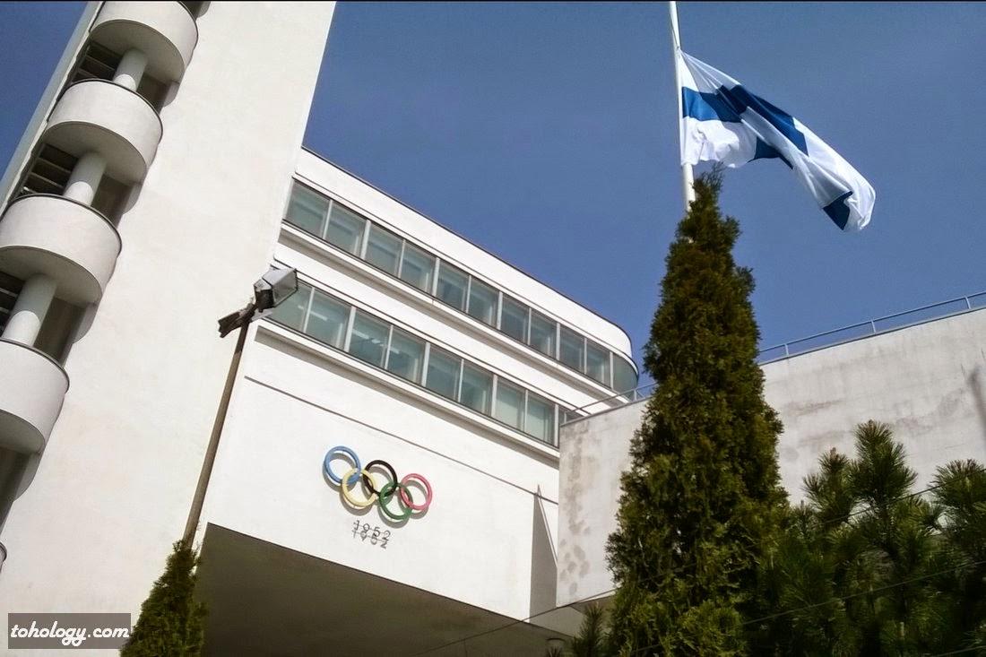 The Olympic Stadium 1952