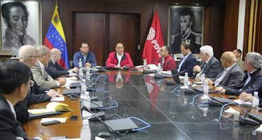 Presidente de Pdvsa se reunió con autoridades de petroleras internacionales