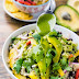 Black Bean Quinoa Bowl with Cilantro Honey Lime Vinaigrette