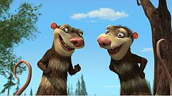 The Possum Brothers in Ice Age: Dawn of the Dinosaurs 2009 animatefilmreviews.filminspector.com