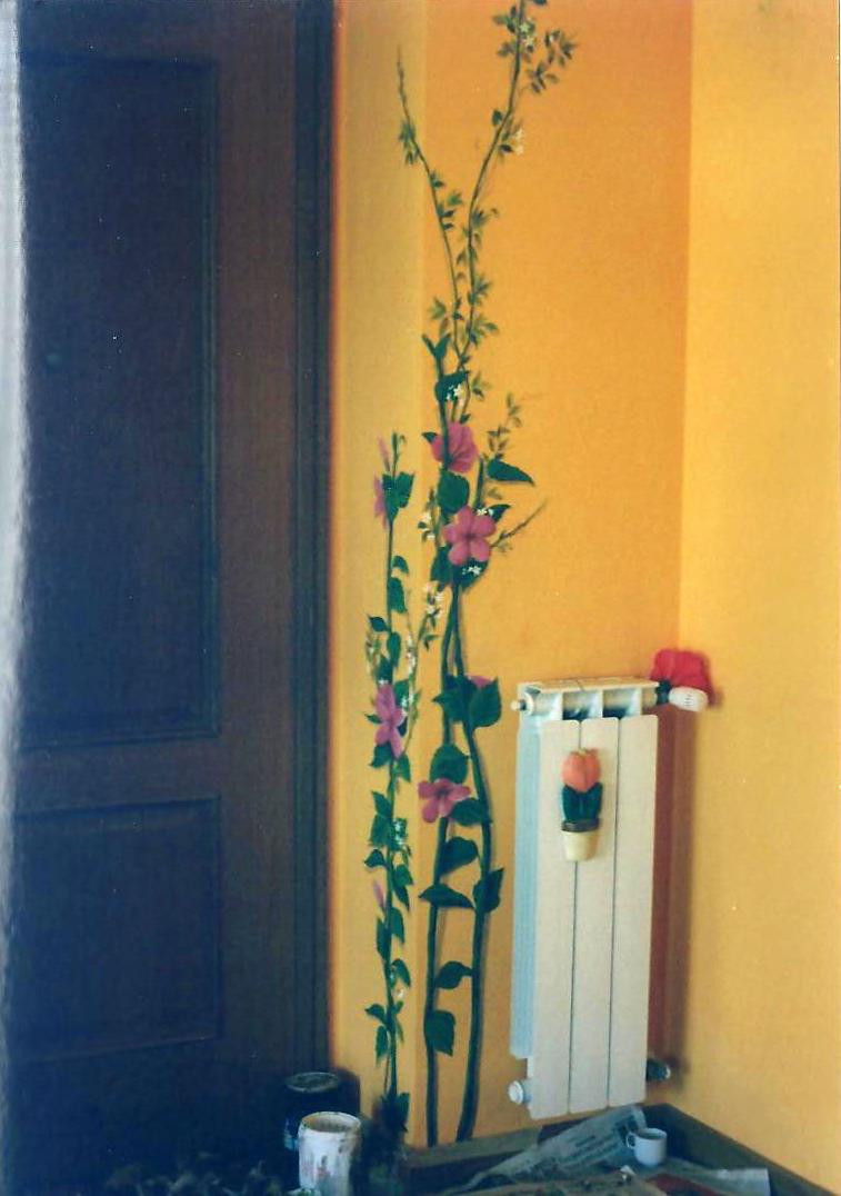decorazione su parete cameretta bimba decorazione parete boutique ...