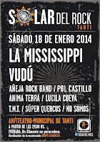 """EL 18 LLEGA """"SOLAR DEL ROCK 2014"""""""
