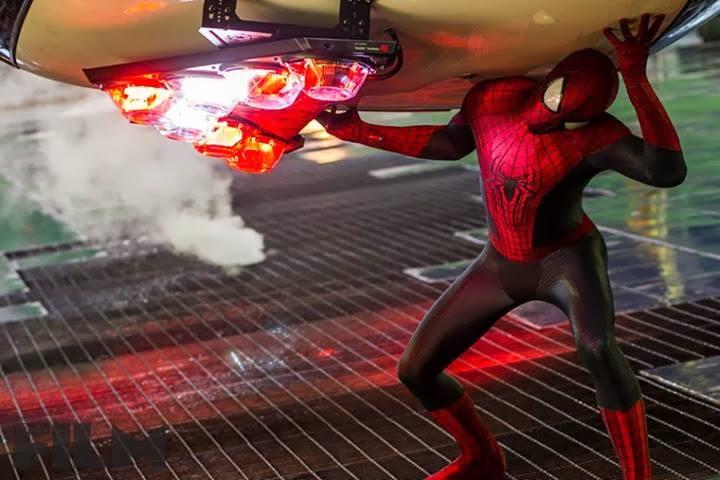 Nuevas imágenes de El Sorprendente Hombre Araña 2