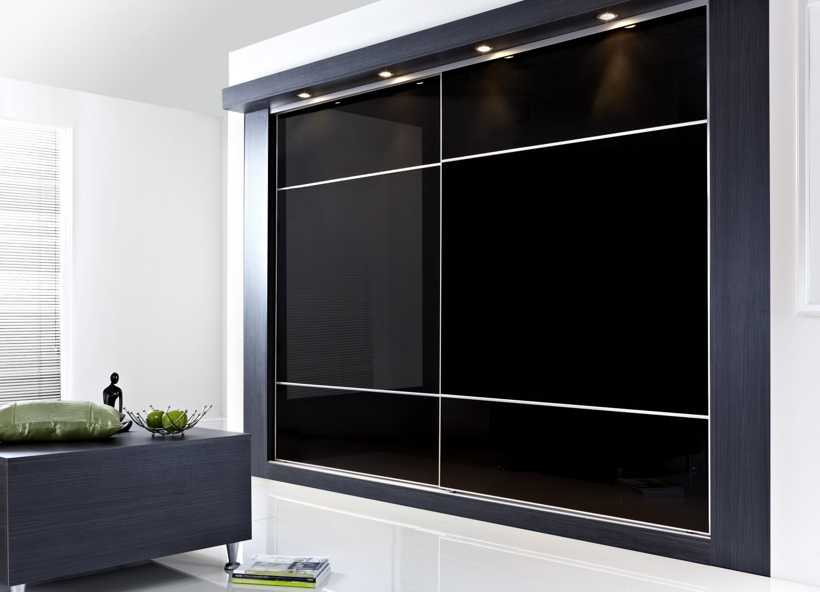 Wardrobe closet wardrobe closet sliding door for Modern sliding doors