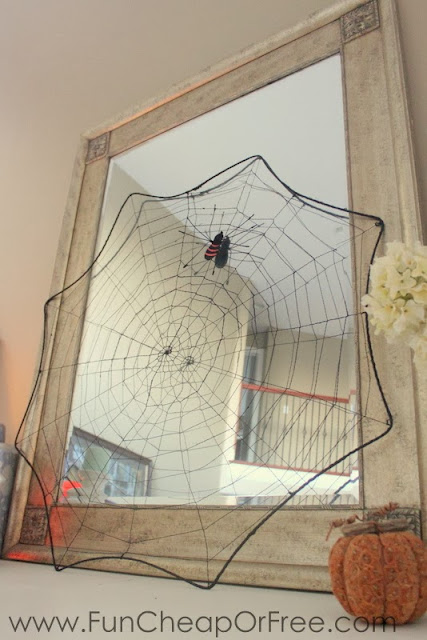 Spiderweb decoration, from Fun Cheap or Free