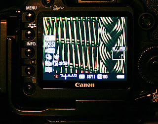 Using Live View to focus in the dark II