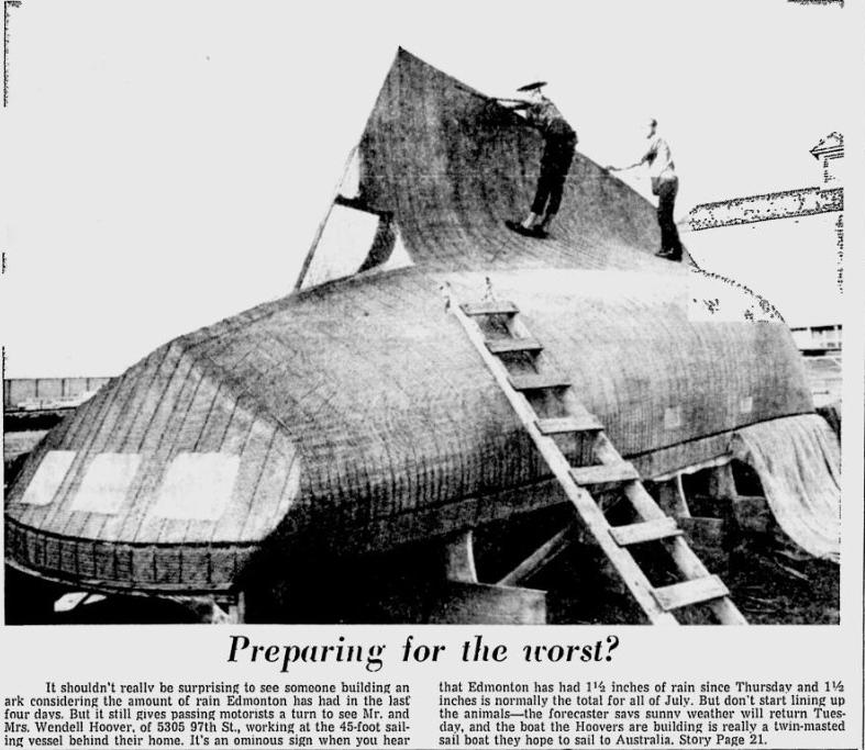Vintage Edmonton: July 7, 1969
