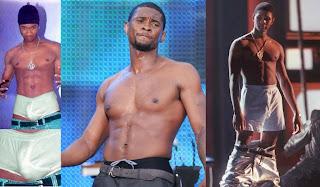 Usher Desnudo