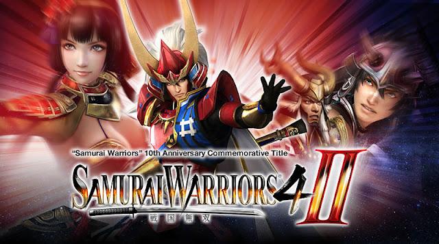 Samurai Warriors 4-II HD Cover