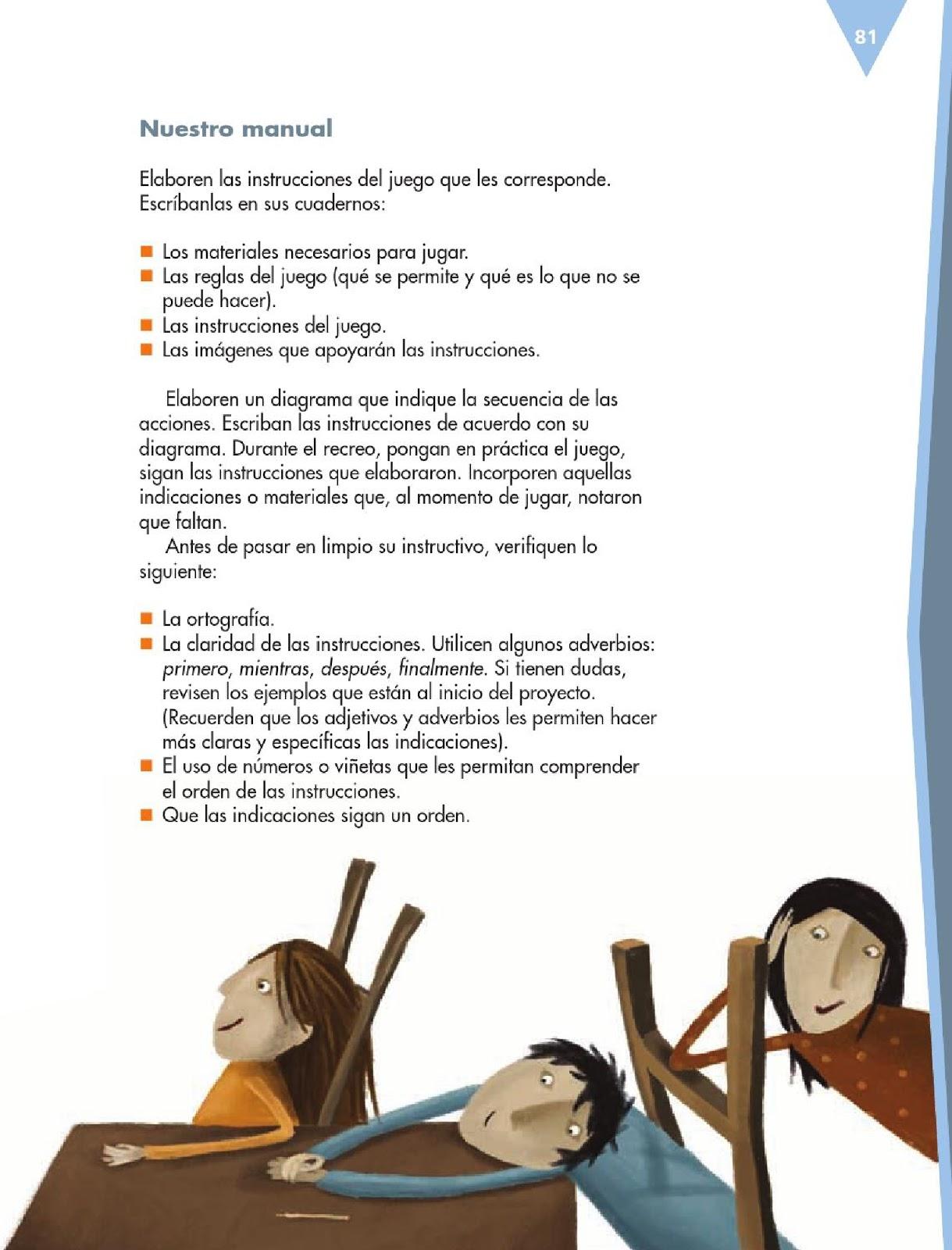 Manual De 6 Grado 2016   MEJOR CONJUNTO DE FRASES