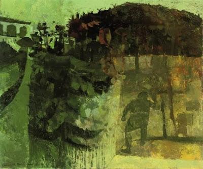 Leonard Rosoman bucolic painting