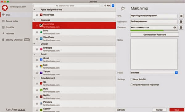 LastPass password manager app debuts on Mac