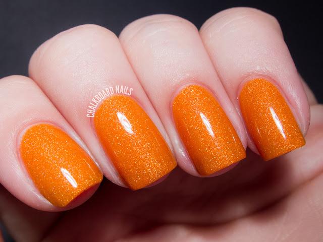 Chalkboard Nails: Pretty and Polished Crush