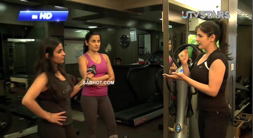 , Zarine Khan Gym Workout Hot Pics
