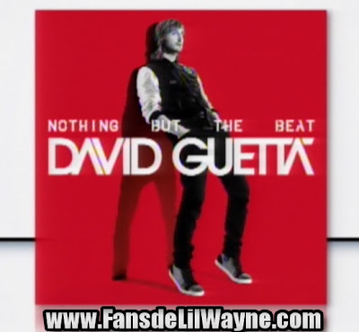 portada oficial del proximo disco de david guetta nothing but the beat lil wayne