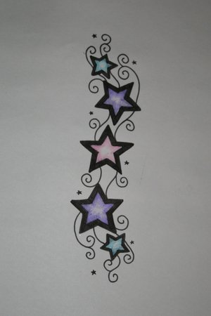 Tatto Bilder on Star Tattoo With Initials   Tattoos   Zimbio