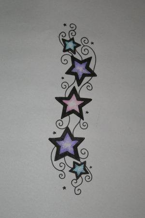 Tatto Bilder on Star Tattoo With Initials   Tattoos   Zimbio