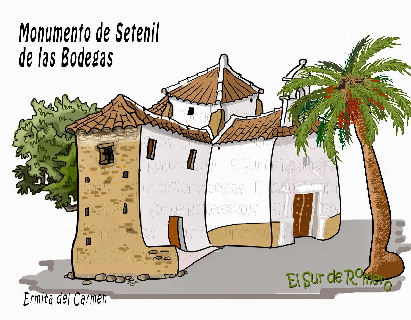"""<img src=""""Ermita del Carmen.jpg"""" alt=""""dibujos de Setenil""""/>"""