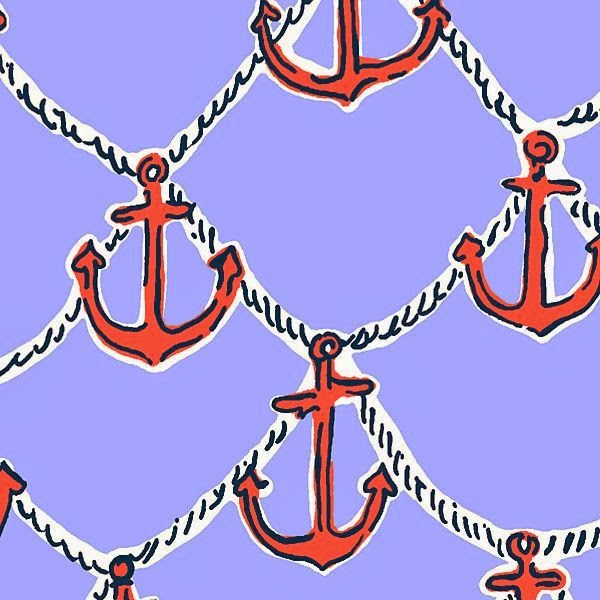 Lilly Pulitzer Summer 2013 Anchors Away