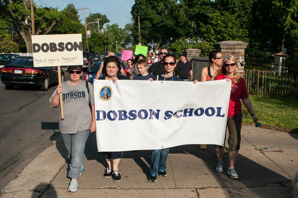 news peoria teachers rally build schools walls