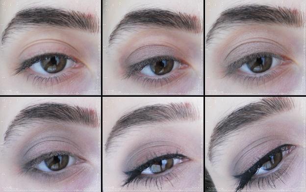 Adım-Adım-Göz-Makyajı:H&M-Nude-Eyes-Palet-ile