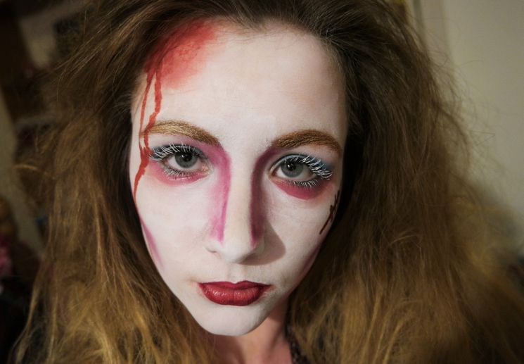 Mad Hatter Make Up Tutorial The Brooke Of Fashion