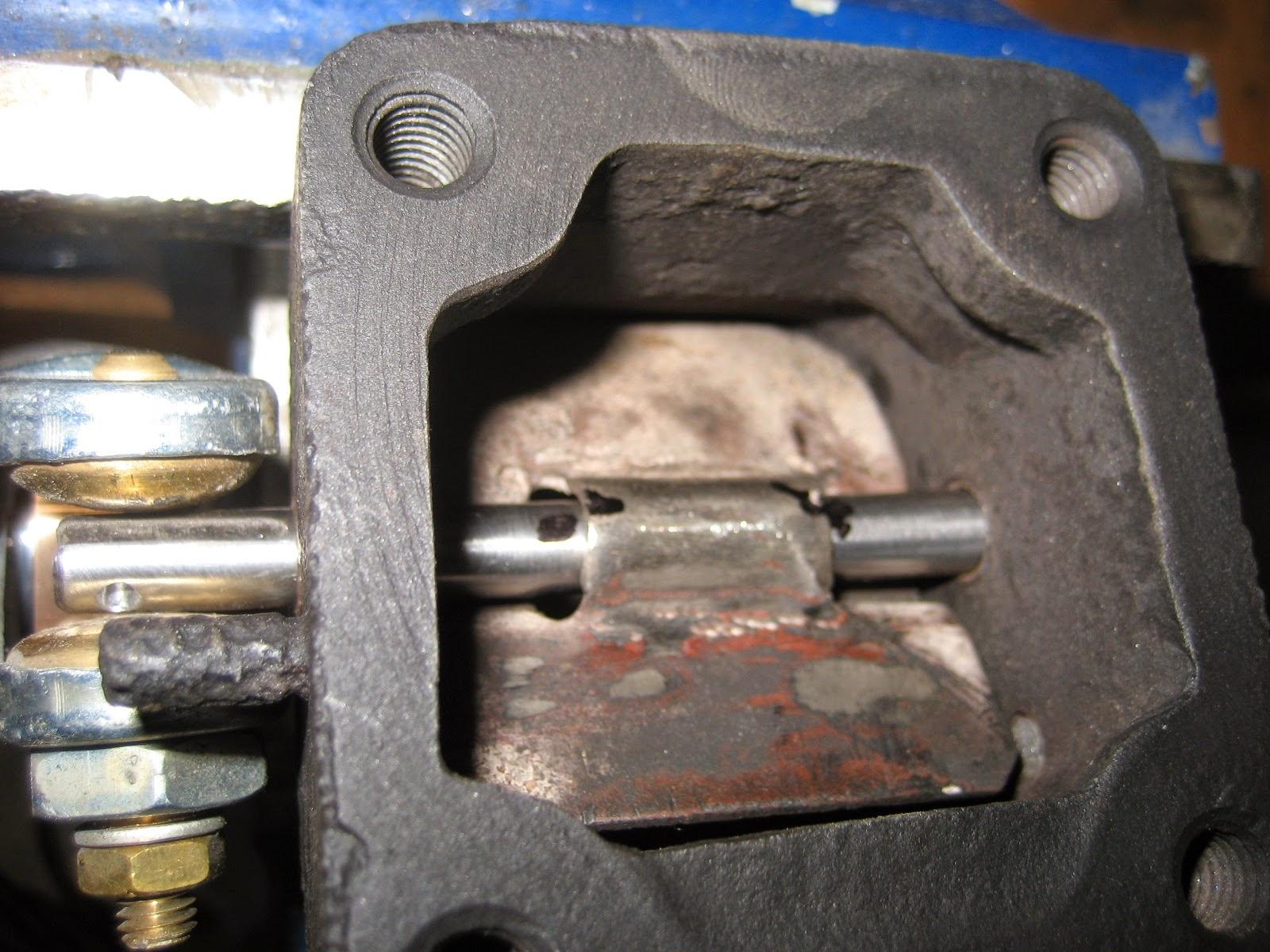 volet thermostatique dans le collecteur d u0026 39  u00e9chappement