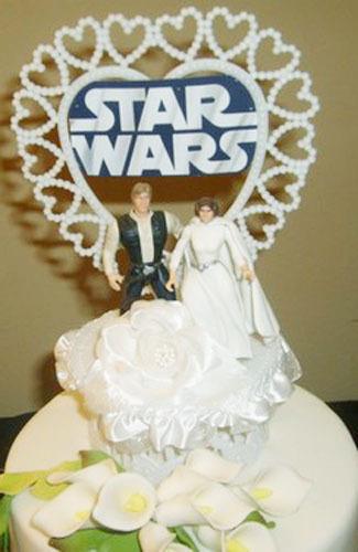 Topping Kue Wedding Yang Unik dan Lucu